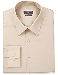 Men's Flex Collar Slim Fit Stretch Dress Shirt,