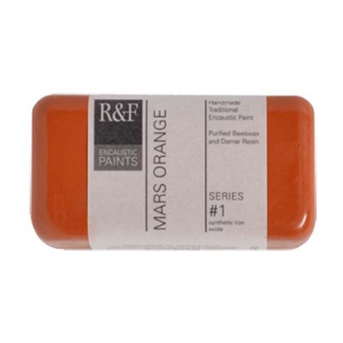 R&F Encaustic 40ml Paint, Mars Orange