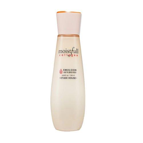 Etude House Moistfull Collagen Emulsion 6 08 fl oz 180 ml (Etude House Moistfull Collagen Water Jelly Cream)