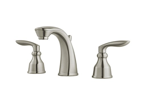 Pfister LG49CB1K Avalon Two-Handle 8 Inch Widespread Bathroom Faucet in Brushed Nickel, Water-Efficient Model by Pfister