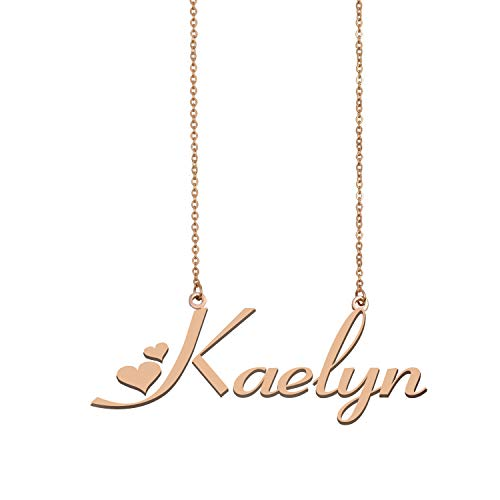 A Missing Dog Personalized My Name Necklace Kaelyn