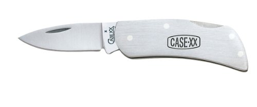 Case Cutlery 00159 Lockback Knife with Stainless Steel Blade Stainless Steel, Outdoor Stuffs