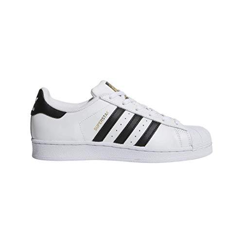 adidas Originals womens Superstar Sneaker, White/Black/White, 9 US