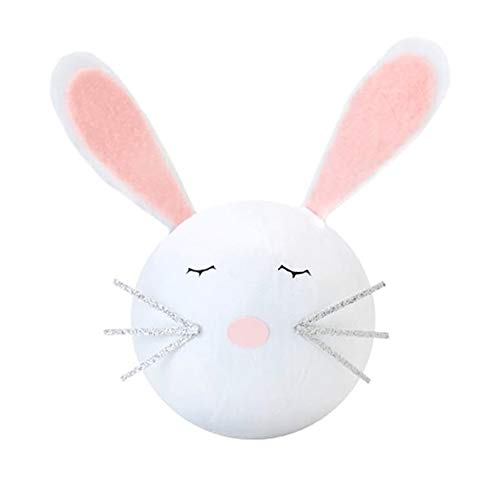 (TOPS Malibu Deluxe Surprize Ball Bunny with Felt Ears 4