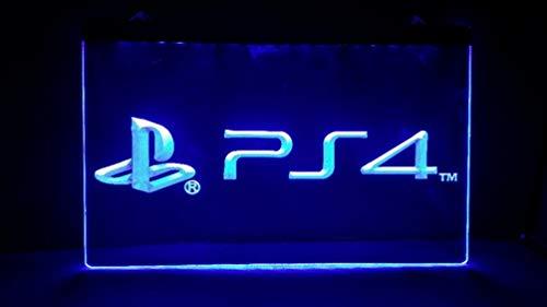 Playstation 4 PS4 LED Sign Light - Playstation Lights 4
