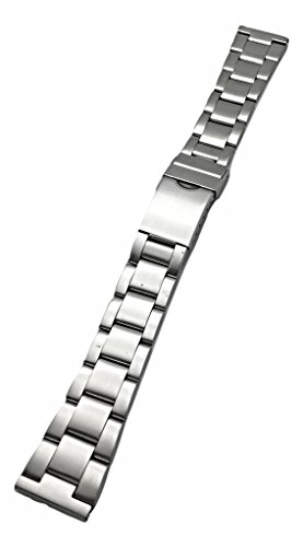 - 20mm Metal Stainless Steel Watch Band by NewLife   Men's Women's Silver Tone Watch Bracelet Replacement Wrist Strap Bracelet with Clasp That Brings New Life to Any Watch