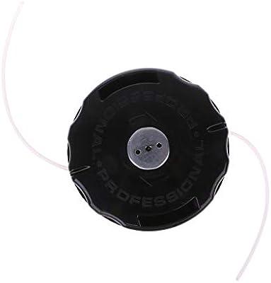 Manyo - Cabezal de desbrozadora universal de plástico para cabeza ...
