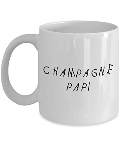 MyFaveGift Drake Feelings Drizzy Champagne Papi Woes Hoes God's Plan 11oz Coffee Mug Cup Gifts For Drake Lover