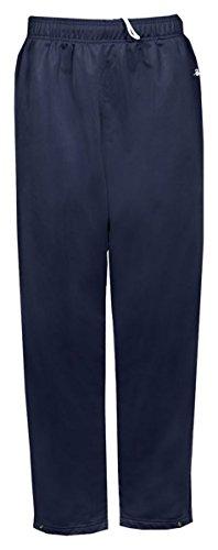 Badger Adult Brushed Tricot Pants (B7711) - Navy BD7711 L