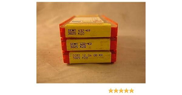 1408 SCMT 432-KR 3025 SANDVIK New Carbide Inserts 10
