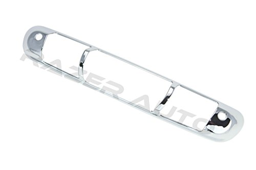 07-13 Chevy Chevrolet Silverado 1500/ 07-14 Silverado 2500/3500 / 07-13 GMC Sierra 1500 / 07/14 Sierra 2500 Chrome Third Brake Light Cover 07 08 09 10 11 12 13 14 (Handle Chrome Brake)