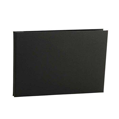 Pina Zangaro Bex 8.5x11 Landscape Screwpost Binder, Black, Without Sheet Protectors (34424)