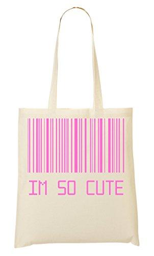 Fourre Sac À So Provisions Barcode Sac CP Cute Tout Im W46qHXnT