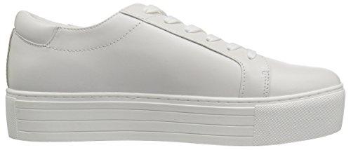 Kenneth Cole Sneakers Bianca Ricamata Con Zeppa Abbinata 2 Paia Di Scarpe Da Donna New York