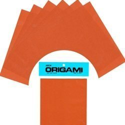 (Solid Color Origami Paper- BROWN 6