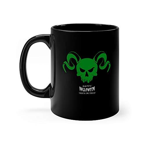 Halloween With Silhouettes Of The Devil Logo Skull Trooper Tea Fun Mug Cups Ceramic 11oz
