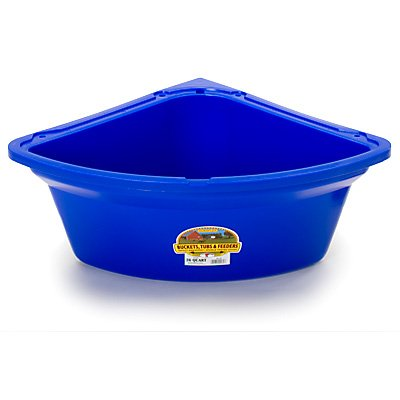 Little Giant Corner Feeder, 26-Quart, Blue by LITTLE GIANT