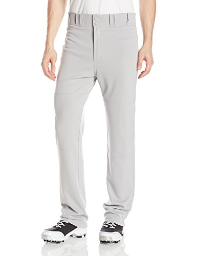 EASTON RIVAL 2 Baseball Softball Pant | Adult | Small | Grey | 2020 | Double Reinforced Knee | Elastic Waistband w/ 2 Color Internal Easton Logo | 2 Batting Glove Pockets | 100% Polyester