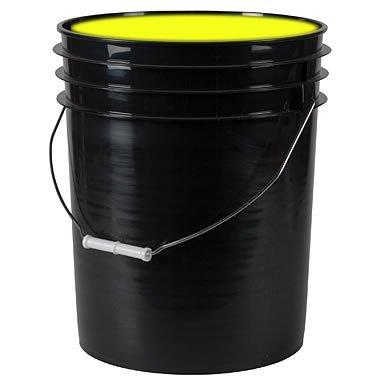 5-Gallon Washable Neon Uv Glow Paint - Yellow