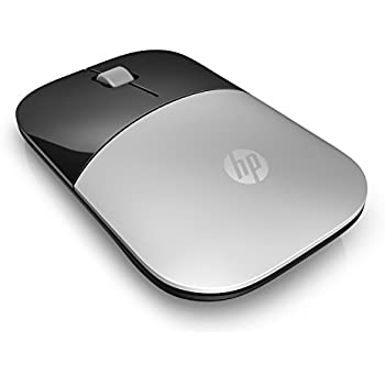 HP 2.4GHz Wireless USB Mouse Z3700 (Turbo Silver)