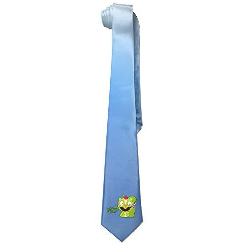 Ggift Happy Tree Friends Nutty Mens Fashion Business Solid Necktie Neck Ties