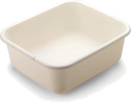 Rubbermaid 11.4 QT Dish Pan, Bisque (FG2951ARBISQU)