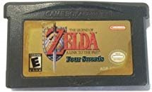 The Legend of Zelda: A Link to the Past 4 Swords - Game Boy Advance (GBA) - Compatible model NINTENDO - 32 bit Video Game Cartridge Console Card - US Version (Legend Of Zelda Link To Past)