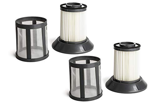 Green Label 2 Pack Replacement Dirt Bin and Dirt Cup Filter Screen Kit 2031532 for Bissell Zing Bagless Vacuum Cleaners. Fits: 6489, 10M2, 64892 and 64894