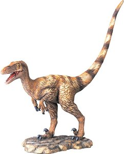 Deinonychus Finished Model, Dinosaur Polystone Statue, Scale 1/10