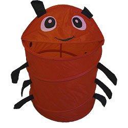 Red Ladybug Hamper Storage Bin - Pop Up Laundry Basket