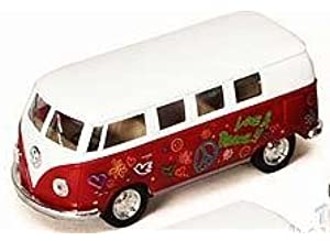 Volkswagen Classical Hippie Bus (1962) 1 32 Scale by Kinsmart e57661ab9