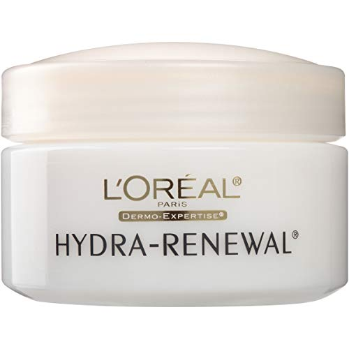 L'Oreal Dermo-Expertise Hydra-Renewal Continuous Moisture Cream Dry/Sensitive Skin 1.70 oz (Pack of - Renewal Cream Hydra Moisture