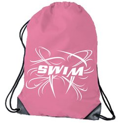 Amazon.com: 1Line Sports Drawstring Swim Bag (Pink): Sports & Outdoors