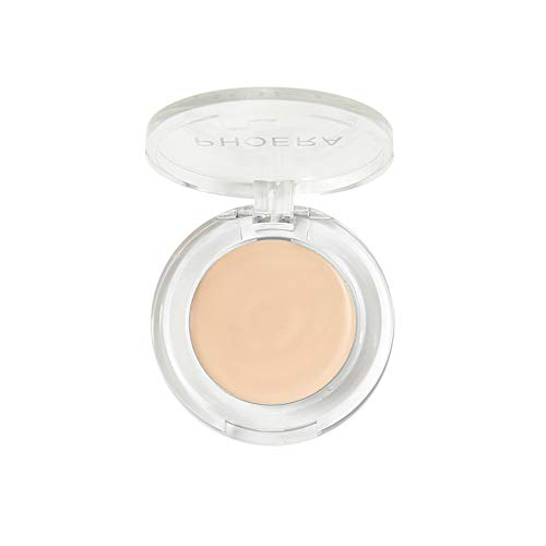 PHOERA Face Makeup Concealer Foundation Palette Creamy Moisturizing Concealer Cosmetic Tools Portable