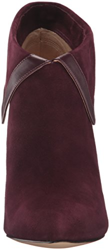 Tailya Suede Ankle Nine Bootie Wine West Women's qHxvtvER