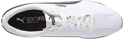 Basses Sneakers II Puma Puma 04 Turin Adulte puma Mixte Blanc White Black tSwtqE1x