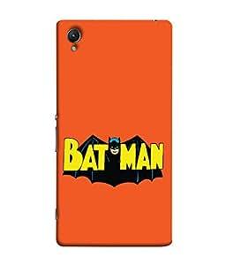 ColorKing Sony Xperia Z5 Case Shell Cover - Batman Multi Color