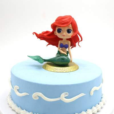 Muñeca de sirena para decoración de tartas de cumpleaños ...