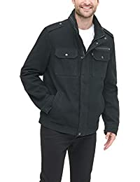 Men's Washed Cotton Two Pocket Military Jacket (Regular and Big and Tall Sizes)