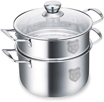 KaiKai De Espesor de Acero Inoxidable crisol de la Sopa Pot Vapor ...