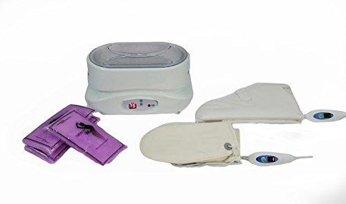 Digital Paraffin Bath Wax Warmer Heater with Gloves and Wax TLC-5010GW by eMark Beauty