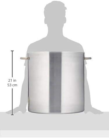 Lacor - 20145 - Olla Recta Con Tapa Chef Aluminio 45 cms: Amazon ...