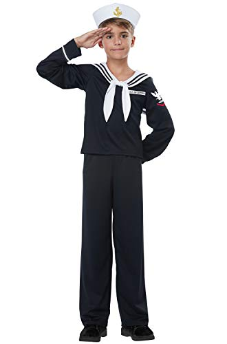 Navy - Sailor Boy - Child Costume