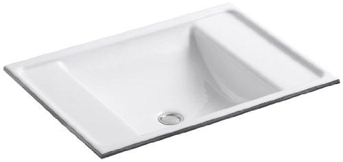 KOHLER K-2838-0 Ledges Undercounter Bathroom Sink, White by Kohler
