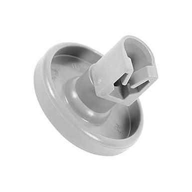 8 ruedas inferiores para lavaplatos y eje de clip para Electrolux 50286965004 50269971003 de 40 mm