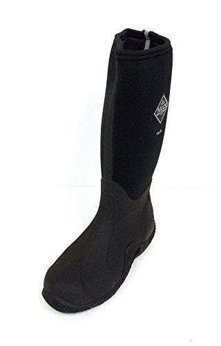 Muck Boot The Original MuckBoots Adult Tack Classic Hi-Cut Boot,Black,5 M US Mens/6 M US Womens … (Tack Muck)