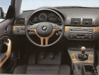 Bmw Oem Genuine E46 Coupe Or Convertible 2000 2006 Birch Interior