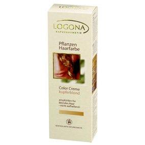 Herbal Hair Color Cream Copper Blonde Logona 5.1 oz Cream (Powder Foundation Copper)