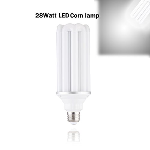 Conversion Hps Lamps (45W/35W//54W/40W/50W/60W/28W LED Corn Light Bulb for Large Area(E26 conversion E40 lamp head) 3080lumens 5000K Daylight White, replaceincandescentReplacement HID/HPS/ CFL(Pack of 1))