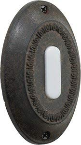 - Quorum 7-307-44 Accessory - Basic Oval Button, Toasted Sienna Finish